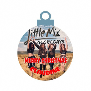 Little Mix Acrylic Christmas Ornament Decoration